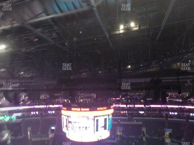 Staples Center Section 317 view