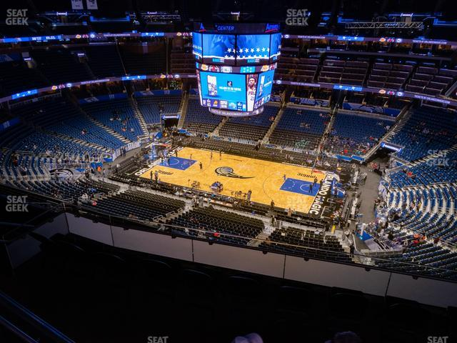Amway Center Section 207 view