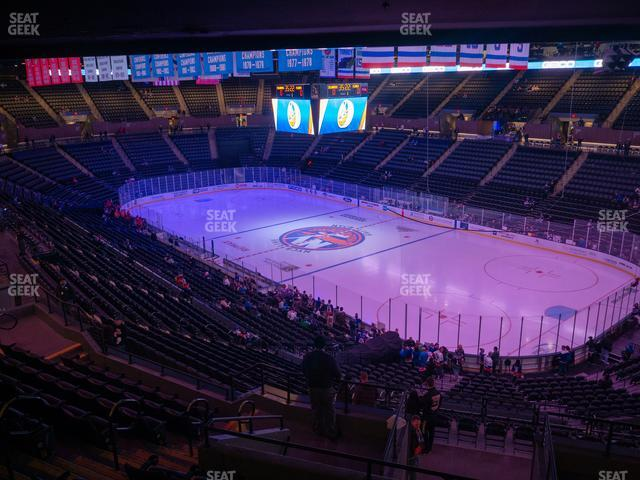 Nassau Veterans Memorial Coliseum Section 218 view