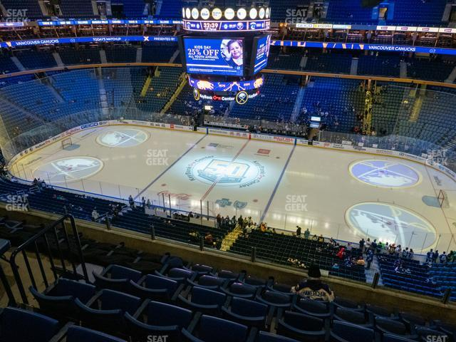 KeyBank Center Section 319 view
