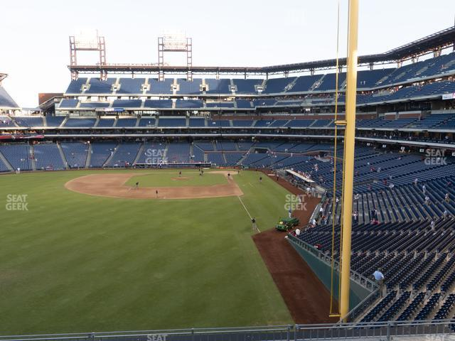 Citizens Bank Park Section 241 view