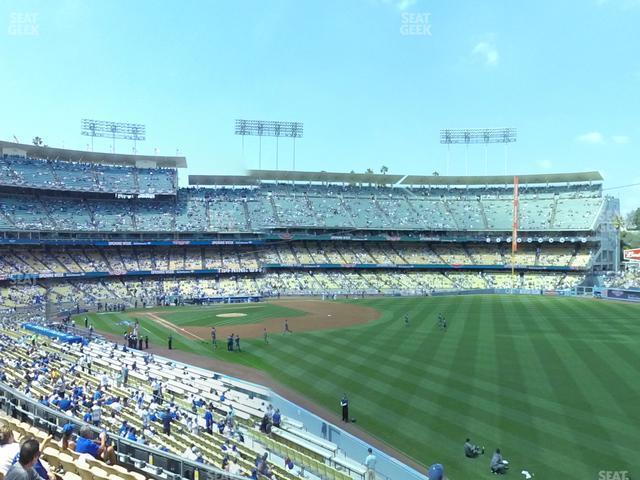 Dodger Stadium Loge Box 162 view