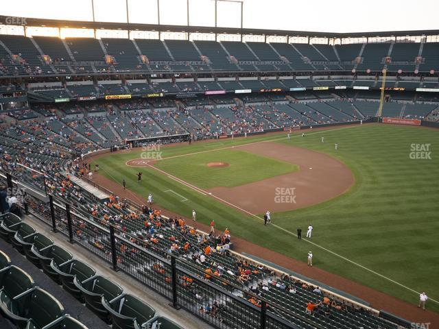 Oriole Park at Camden Yards Section 310 view