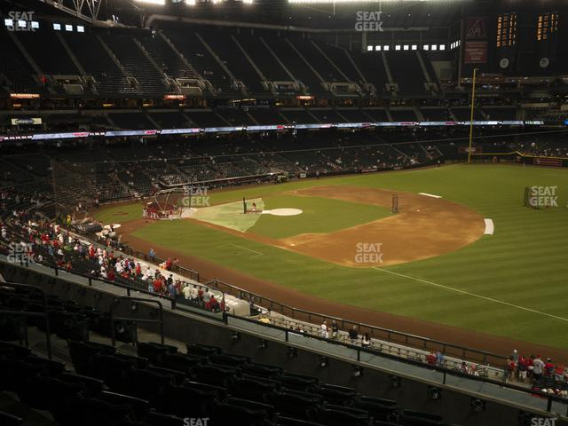 Chase Field Section 204 view