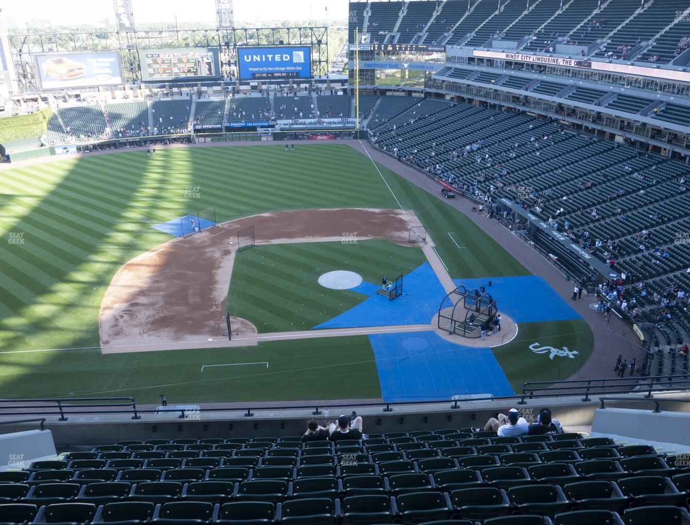 Chicago White Sox at Guaranteed Rate Field Section 538 View