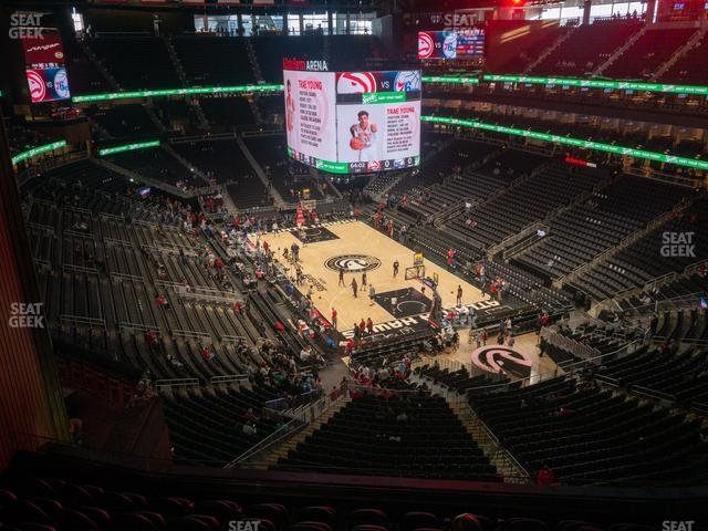 State Farm Arena Section 217 view