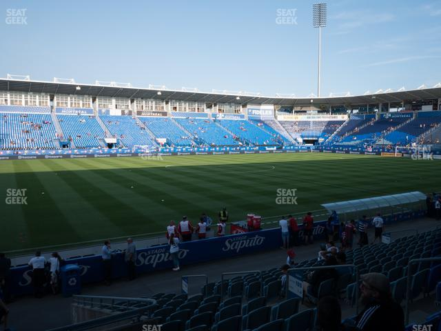 Saputo Stadium Section 109 view
