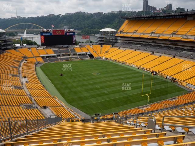 Heinz Field Section 518 view