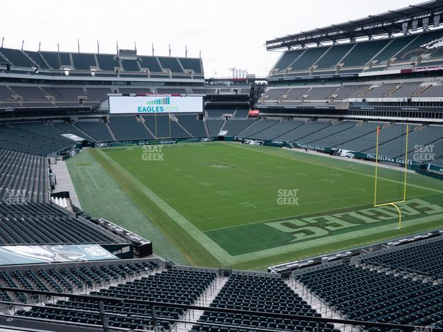 Lincoln Financial Field Northeast Terrace 2 view