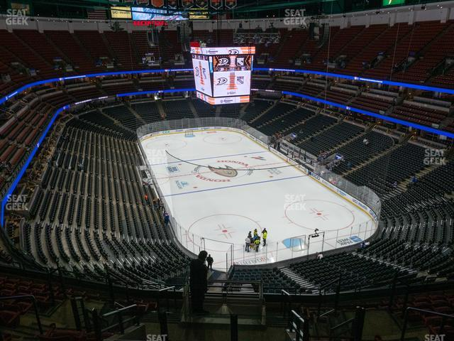 Honda Center Section 425 view