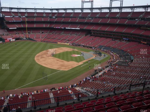 Busch Stadium Left Field Pavilion 363 view