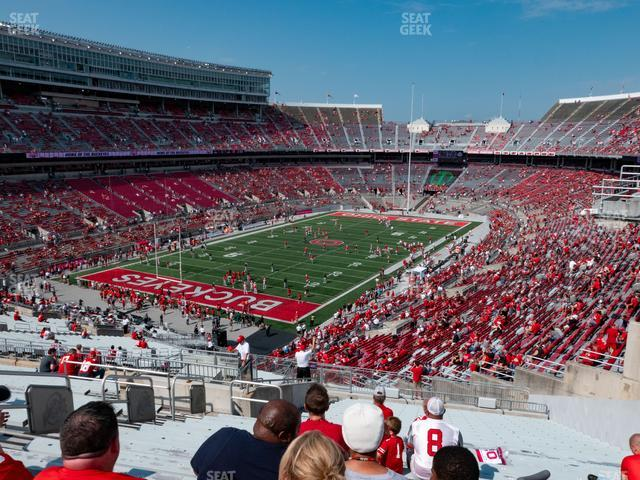Ohio Stadium Section 32 B view