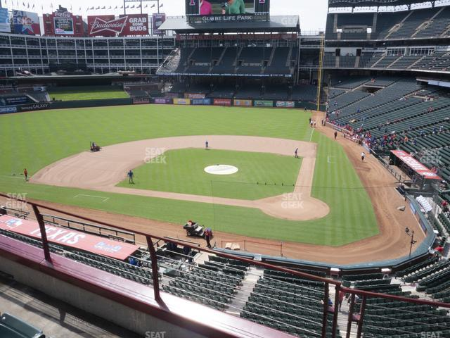 Globe Life Park Section 222 view