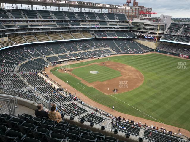 Target Field Section 304 view