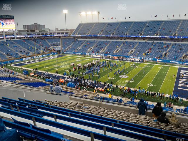 Kroger Field Section 229 view