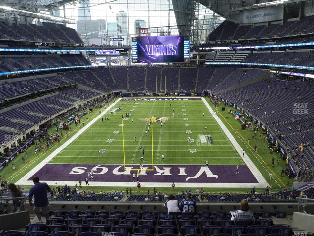U.S. Bank Stadium Section 223 view