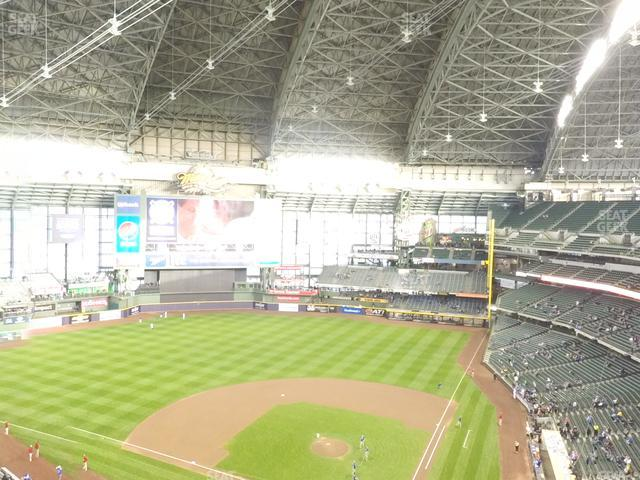Miller Park Section 425 view