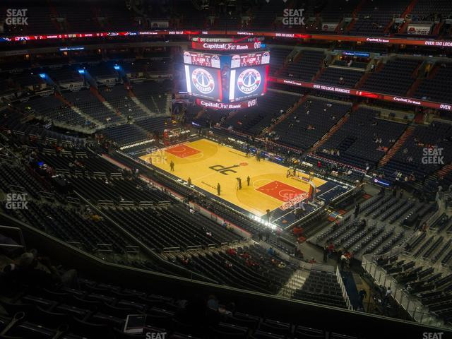 Capital One Arena Section 421 view