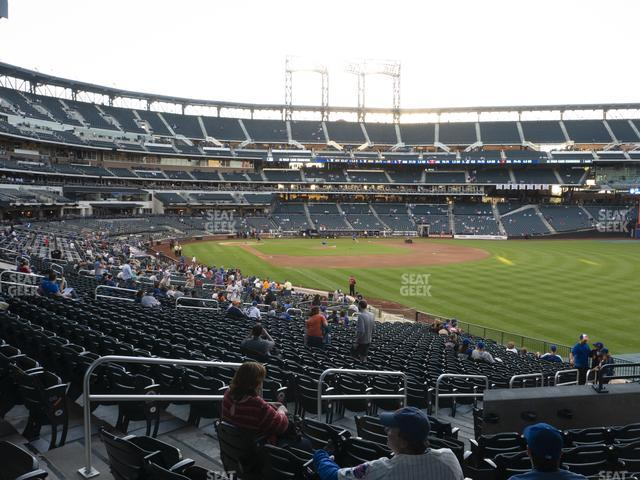 Citi Field Section 105 view