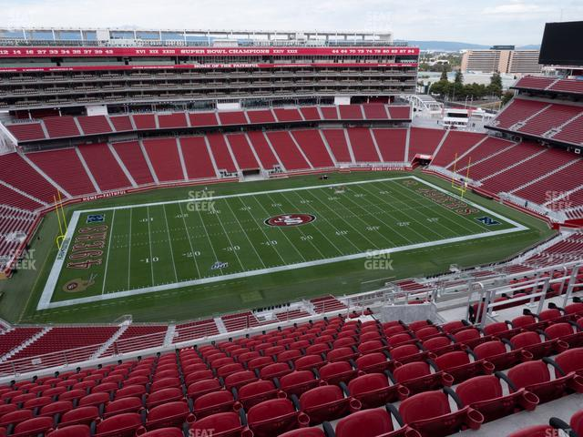 Levi's Stadium Section 414 view