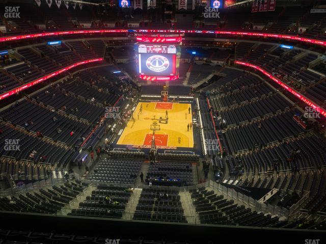 Capital One Arena Section 409 view
