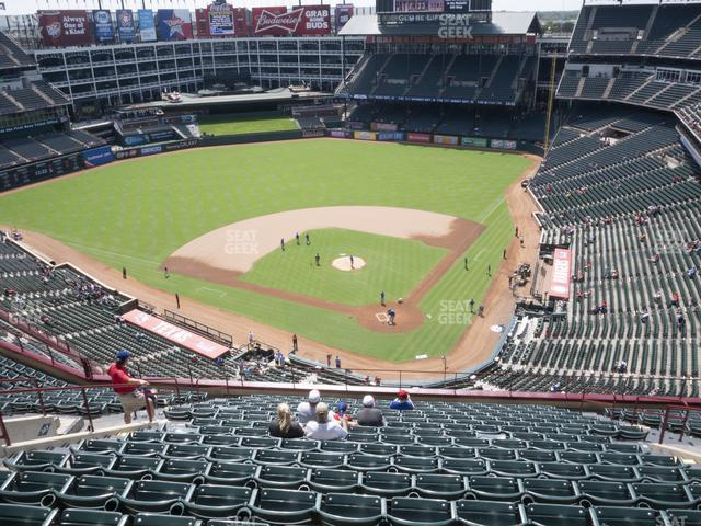 Globe Life Park Section 324 view