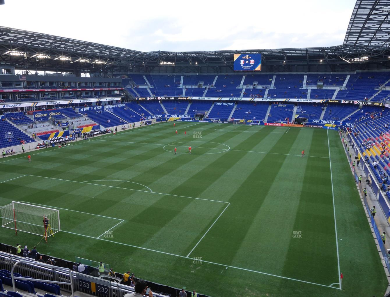 Red Bull Arena Section 232 Seat Views Seatgeek