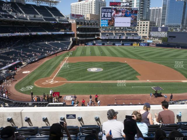 Petco Park Section 205 view
