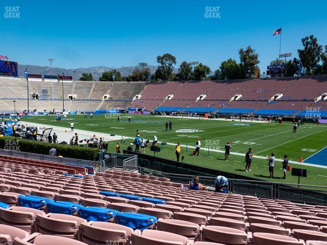 The Rose Bowl Lower 22 L view