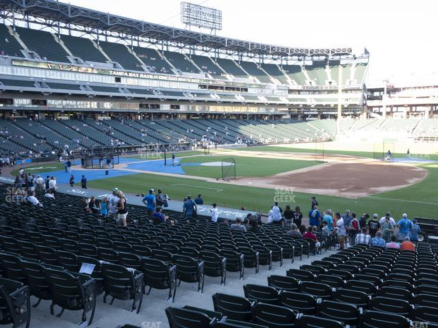 Guaranteed Rate Field Section 120 view