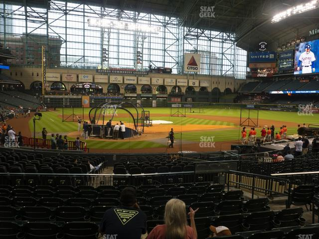 Minute Maid Park Section 120 view