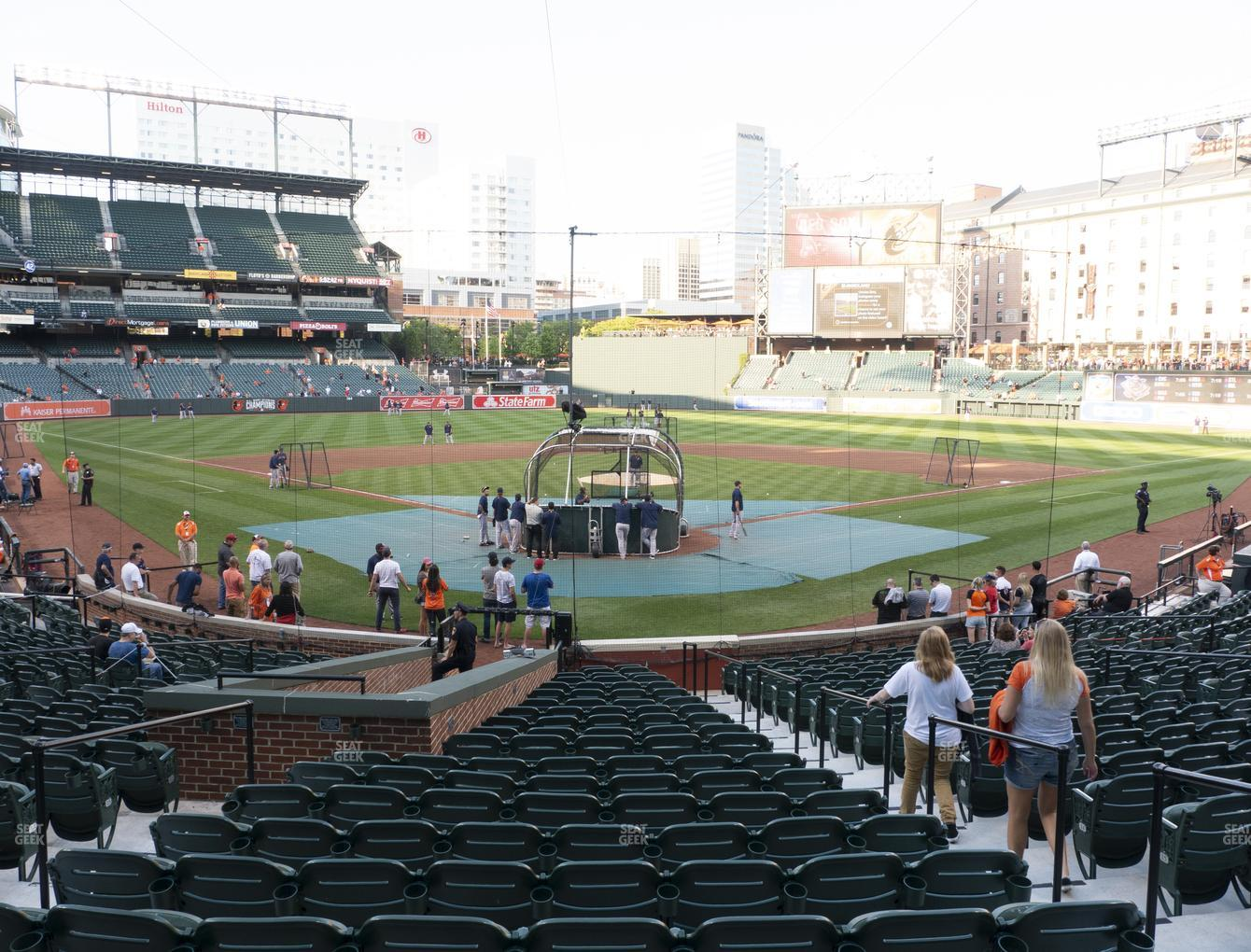 Baltimore Orioles at Oriole Park at Camden Yards Section 36 View