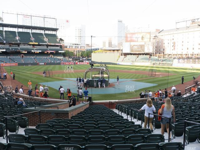 Oriole Park at Camden Yards Section 36 view