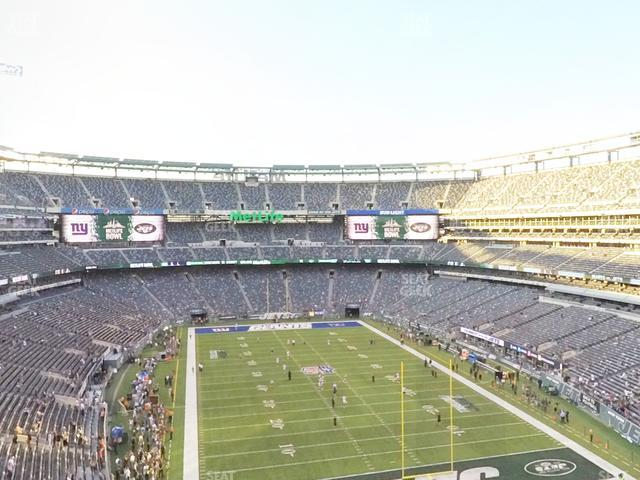 MetLife Stadium Section 228 B view