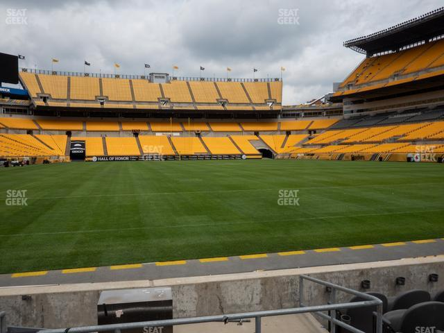 Heinz Field Section FC 1 view