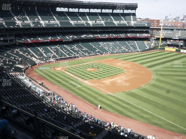 T-Mobile Park Section 316 view