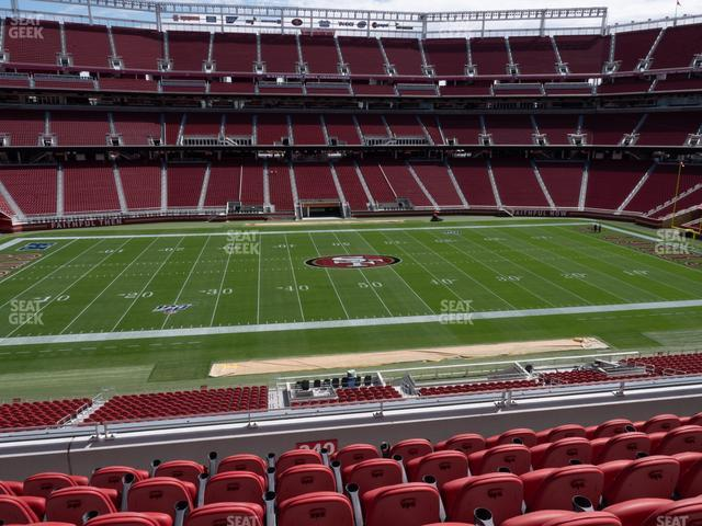 Levi's Stadium Section C 240 view