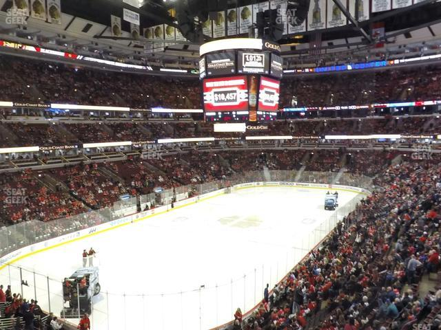 United Center Section 223 view