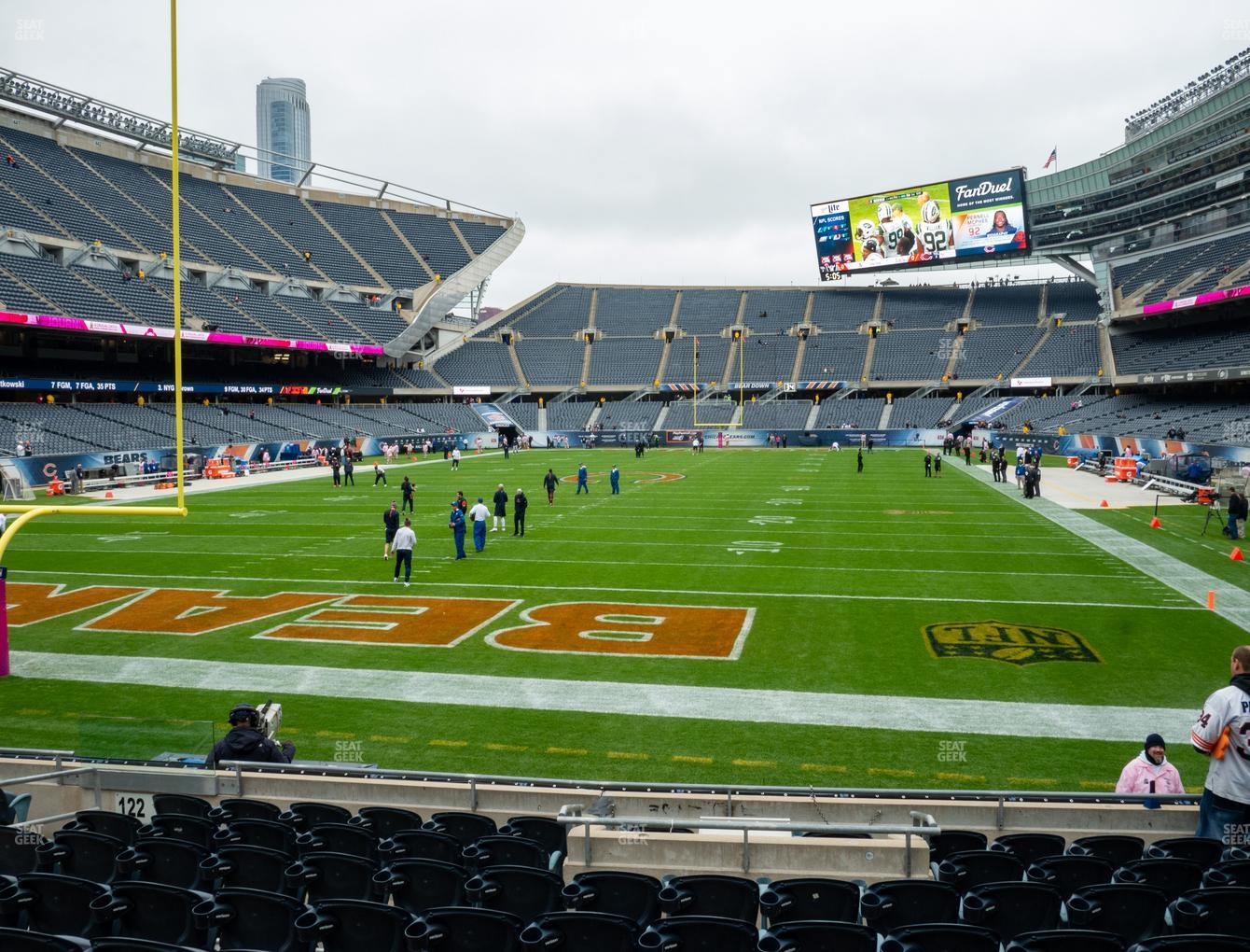 Chicago Bears at Soldier Field Section 121 View