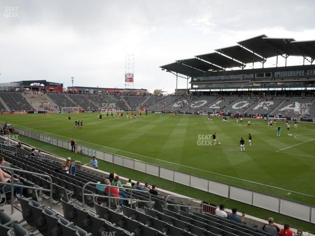 Dick's Sporting Goods Park Section 102 view