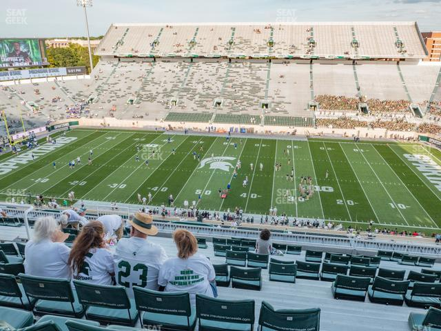 Spartan Stadium Section 123 view