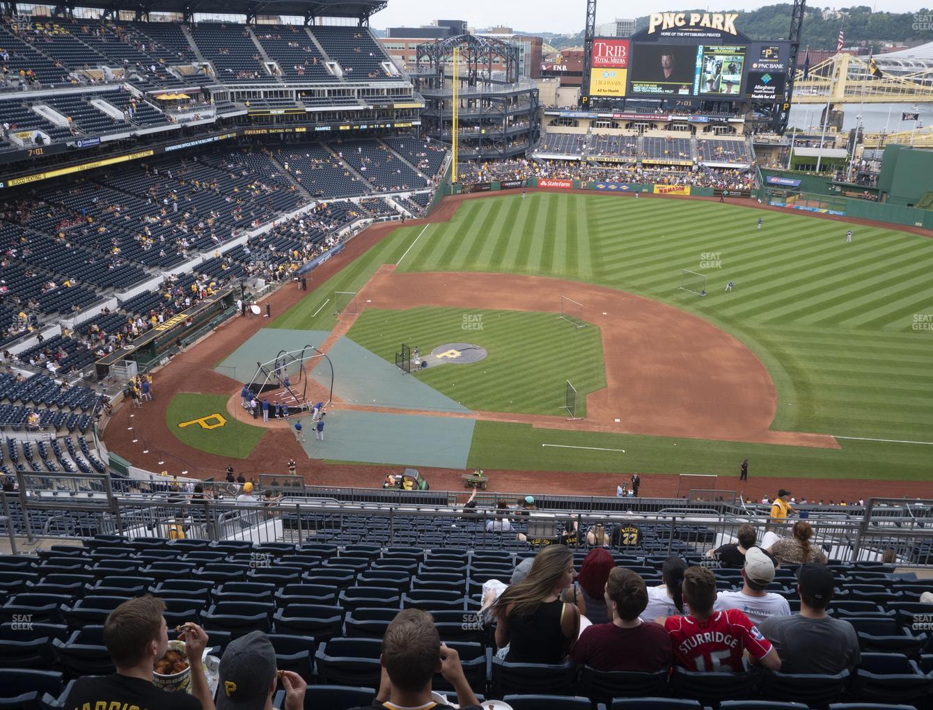 Pittsburgh Pirates at PNC Park Section 310 View