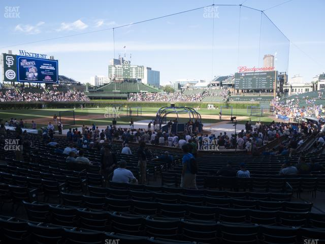Wrigley Field Section 117 view