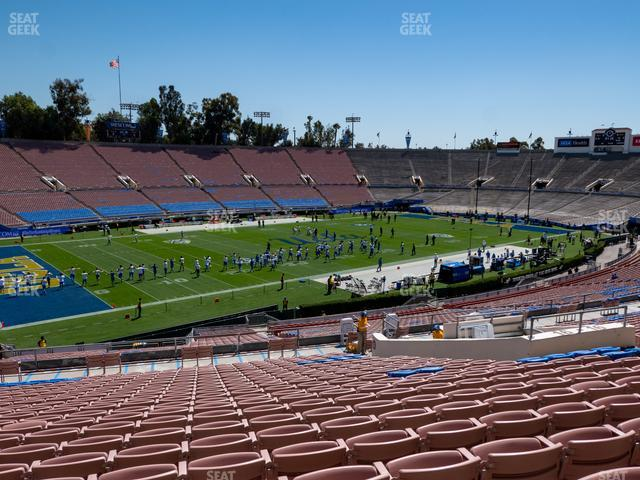 The Rose Bowl Upper 16 L view