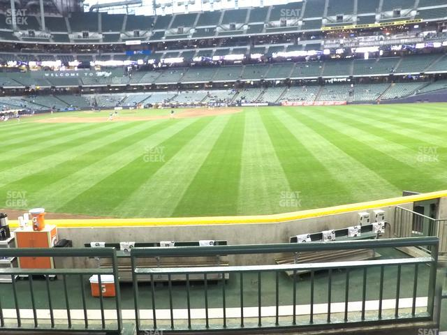 Miller Park Section 101 view