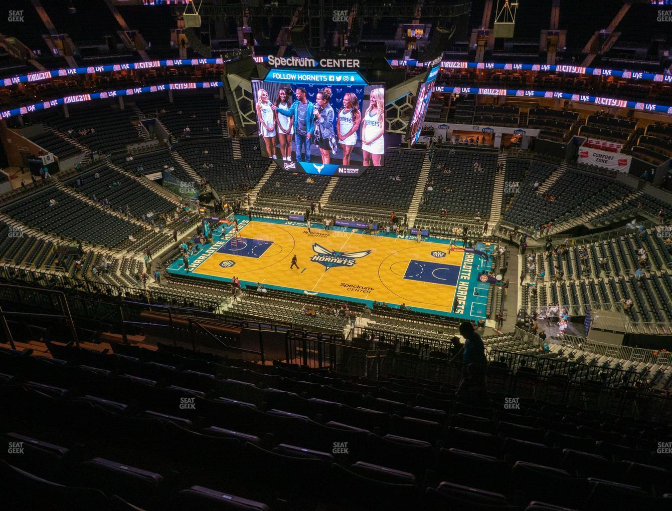 Charlotte Hornets at Spectrum Center Section 224 View