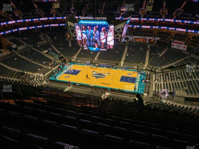 Spectrum Center Section 224 view