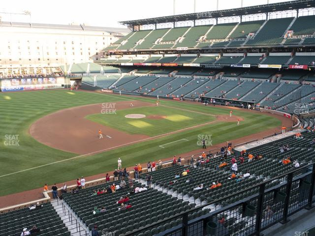 Oriole Park at Camden Yards Section 256 view