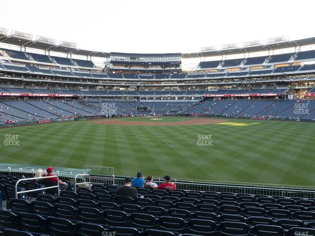 Nationals Park Section 143 view
