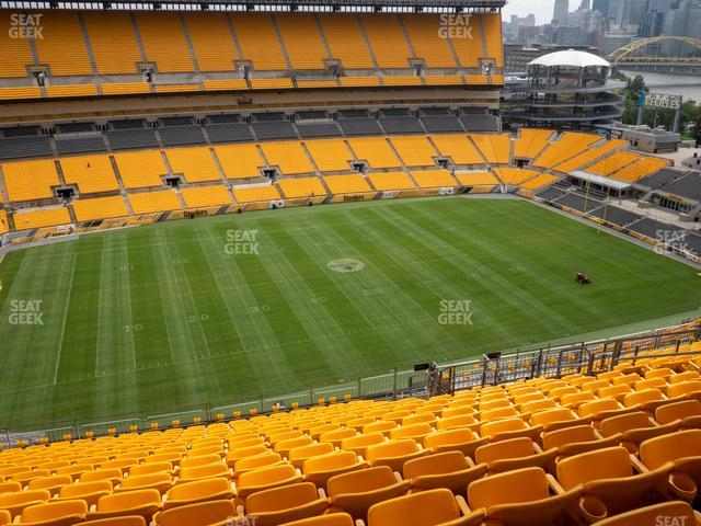 Heinz Field Section 532 view